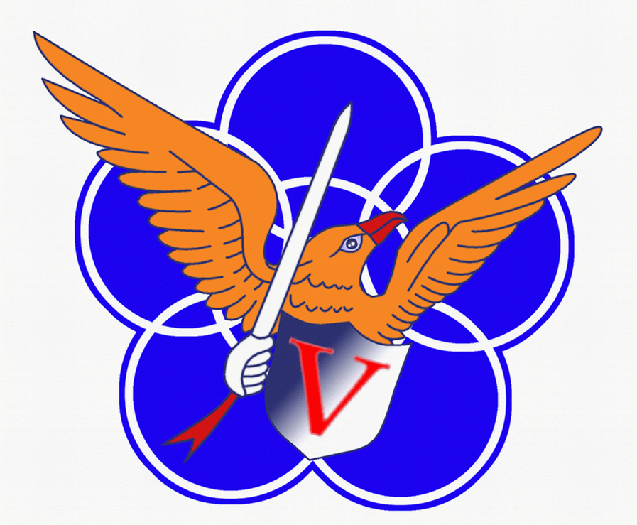 The insignia of the 5th Wing
