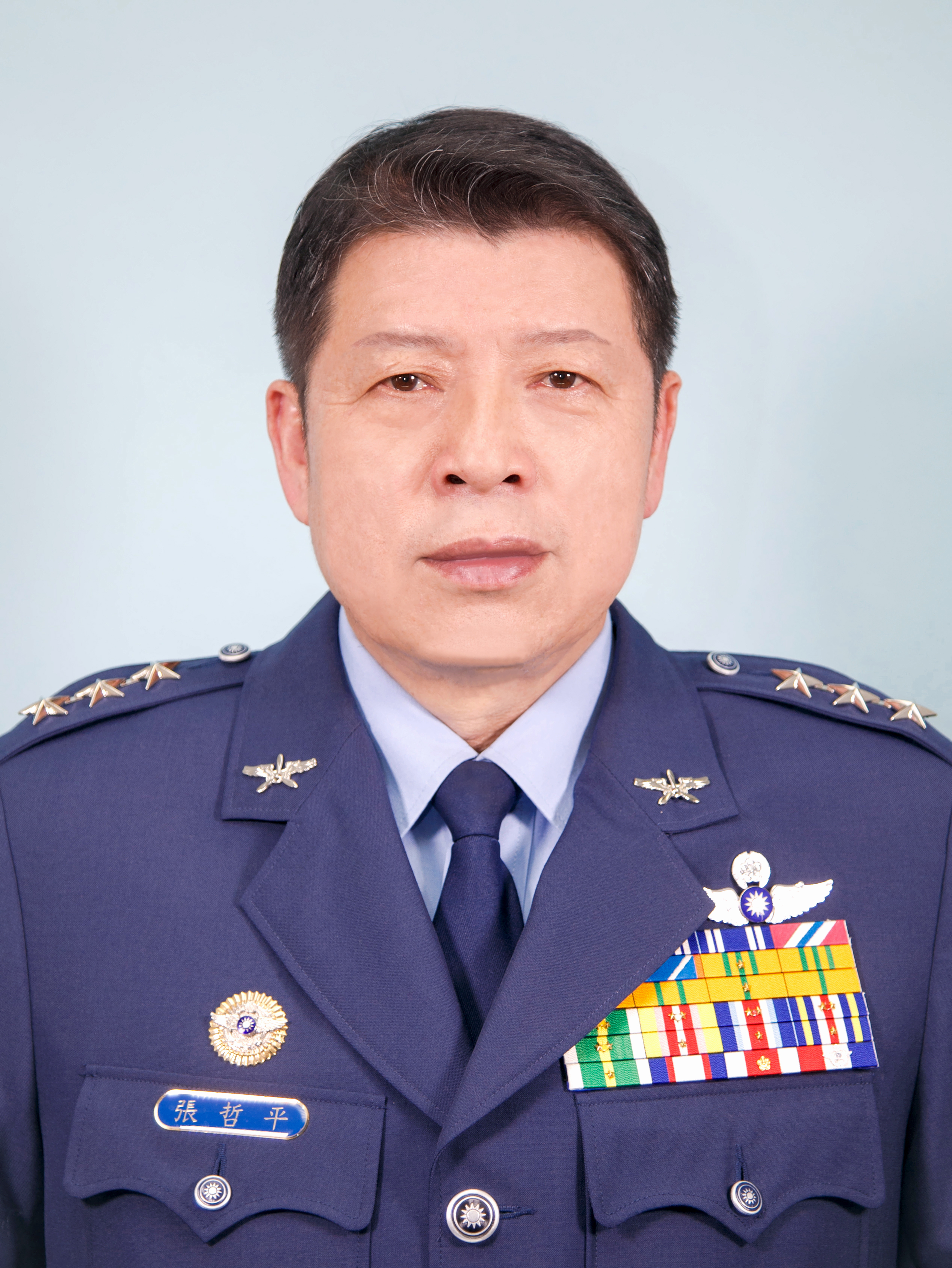 The  General of air command - ZHANG,ZHE-PING